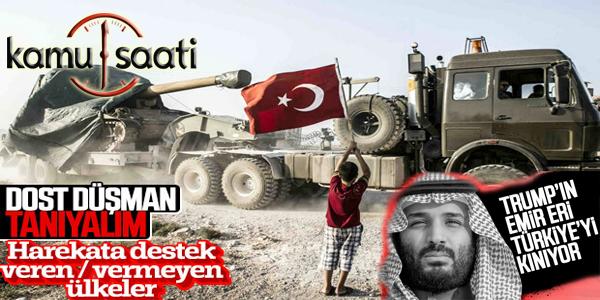 Barış Pınar Harekatı'nda yanımızda olan ve olmayanlar