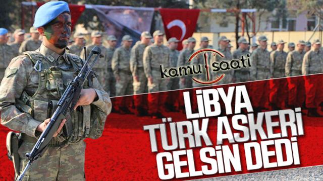 Türk askerinin Libya'ya gitmesine onay geldi