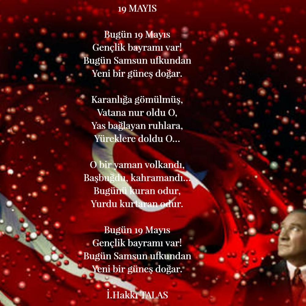 19 Mayıs şiirleri En Güzel Kısa Ve Uzun 19 Mayıs Ile Ilgili