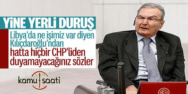 Deniz Baykal, Libya'nın Türkiye için yaptıklarını anlattı