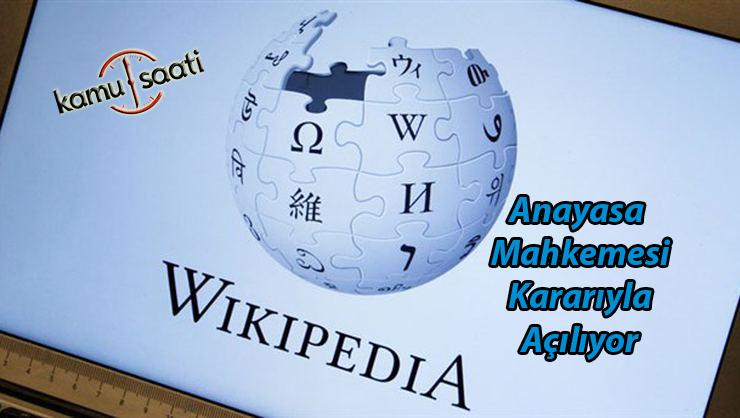Gerekçeli karar açıklandı, Wikipedia açılacak