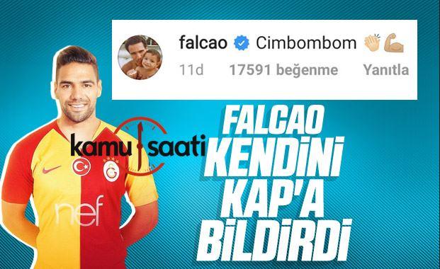 Falcao'nun son paylaşımı: Cimbombom