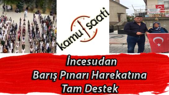 Kayseri İncesu İlçesi Mustafa Özkan Anadolu Lisesi Öğrencilerinden Barış Pınarı Harekatındaki Mehmetçiğe Anlamlı Destek