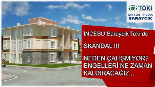 Kayseri'nin İncesu İlçesindeki Saraycık TOKİ'de Skandal Görüntü! Yürekleri Sızlattı